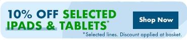Green Leaf Event 10% Off Tablets