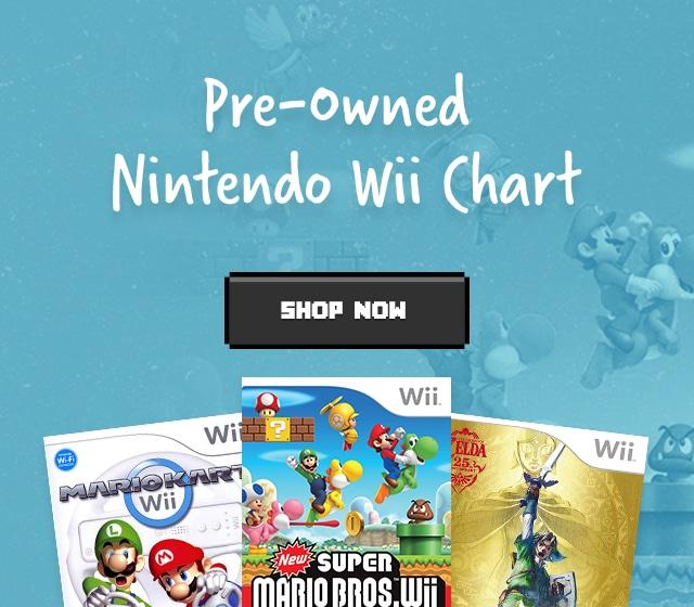 Used Nintendo Wii Games | Buy Nintendo Wii Games & Consoles