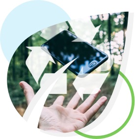 Renting a phone is smart for you and smart for the planet!