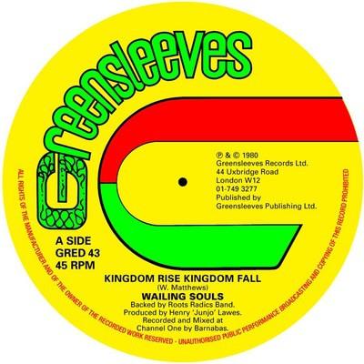 Image of Wailing Souls - Kingdom Rise, Kingdom Fall New Vinyl LP