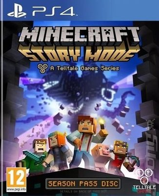 Cheapest price of Minecraft Story Mode PS4 Game in used is £5.49