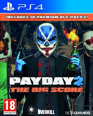 Compare Sony Computer Entertainment new Payday 2 The Big Score PS4 Game in UK