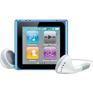Apple iPod Nano 6th gen 16GB Blue Used/Refurbished cheapest retail price