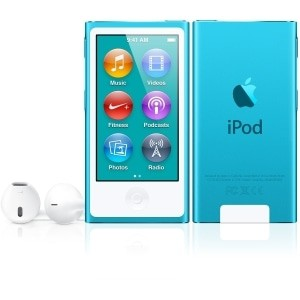 Compare prices with Phone Retailers Comaprison to buy a Apple iPod Nano 7th gen 16GB Blue Used/Refurbished