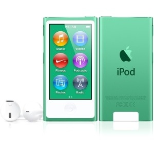 Compare prices with Phone Retailers Comaprison to buy a Apple iPod Nano 7th gen 16GB Green Used/Refurbished