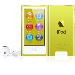 Compare prices with Phone Retailers Comaprison to buy a Apple iPod Nano 7th gen 16GB Yellow Used/Refurbished