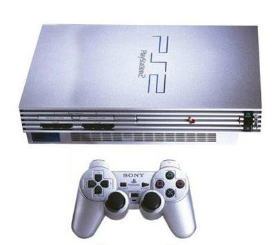 Sony PS2 Satin Silver