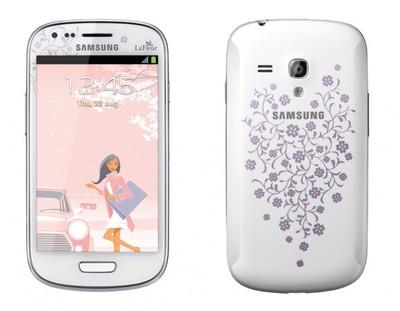 Samsung Galaxy S III mini I8190 Lafleur Unlocked - Sim-Free Mobile Phone