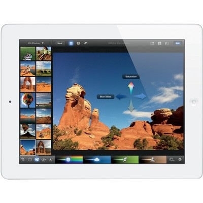 Apple iPad 3 Wi-Fi + 4G 16GB White ORANGE Used/Refurbished cheapest retail price