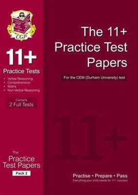 Compare retail prices of 11+ Practice Tests for the Cem Test - Pack 2 Hardback to get the best deal online