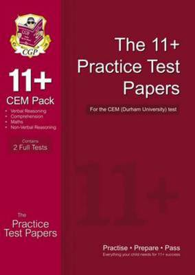 Compare retail prices of 11+ Practice Tests for the Cem Test - Pack 1 Hardback to get the best deal online