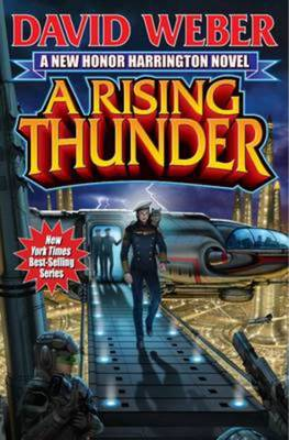 Cheapest price of A Rising Thunder by David Weber Hardback in new is £3.11