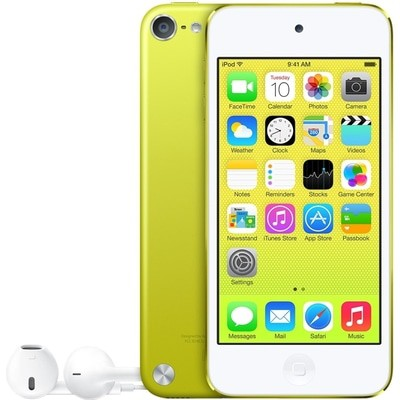 Apple iPod Touch 5th Gen 64GB Yellow Used/Refurbished cheapest retail price