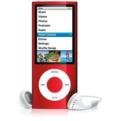 Apple iPod Nano 4th gen 4GB Red Used/Refurbished cheapest retail price