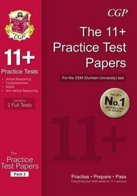 Compare retail prices of 11+ Practice Tests for the Cem Test - Pack 3 Hardback to get the best deal online