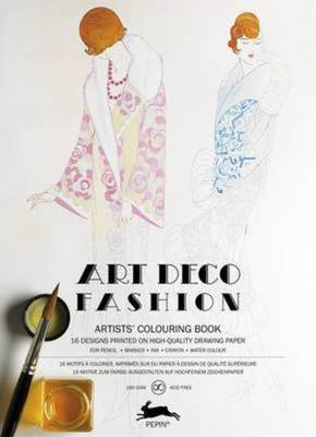 Compare retail prices of Art Deco Fashion Coloring Bk by Pepin Van Roojen Paperback to get the best deal online