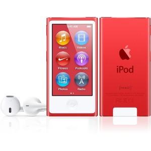 Buy Brand New Apple iPod Nano 7th gen 16GB Red Used/Refurbished