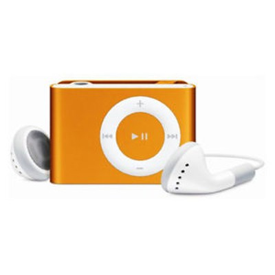 Apple iPod Shuffle 2nd gen 1GB Orange Used/Refurbished cheapest retail price