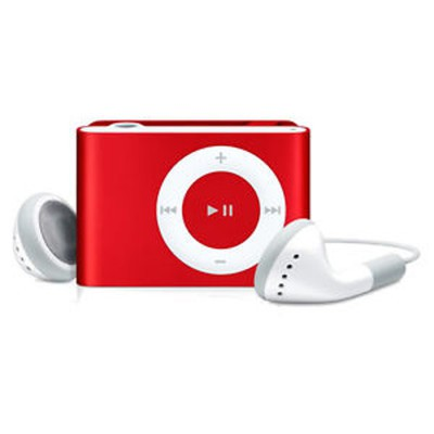 Apple iPod Shuffle 2nd gen 1GB Red Used/Refurbished cheapest retail price