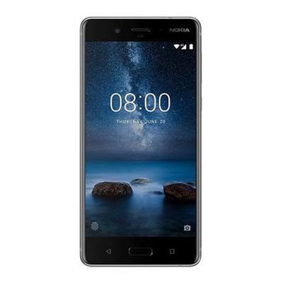 Nokia 8 64 Steel Unlocked - Sim-Free Mobile Phone
