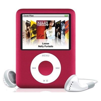 Apple iPod Nano 3rd gen 8GB Red Used/Refurbished cheapest retail price