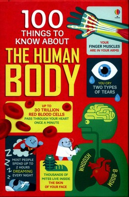 Compare prices for 100 Things to Know about the Human Body by Alex Frith Hardback