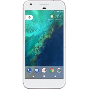 Search and compare best prices of Google Pixel 128GB Silver EE - Refurbished / Used in UK