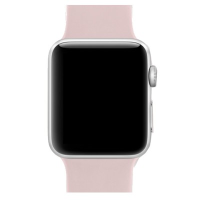7643cac8648d6f Apple Watch Series 2 Silver Aluminium Case 38MM Pink Sand Sport Band ...