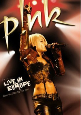 Pink Live in Europe - DVD - DVD