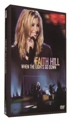 Faith Hill When The Lights Go Down Dv Dvd Musicmagpie Store
