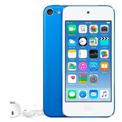 Apple iPod Touch 6th Gen 128GB Blue Used/Refurbished cheapest retail price