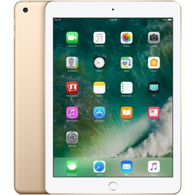 Apple iPad 5th Gen Wi-Fi + 4G 128GB Gold Unlocked Used/Refurbished cheapest retail price