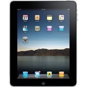 Apple iPad 1 Wi-Fi + 3G 64 GB Black O2 Used/Refurbished cheapest retail price