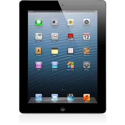 Apple iPad 4 Wi-Fi + 4G 16GB Black O2 Used/Refurbished cheapest retail price