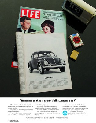 """Compare retail prices of """"remember Those Great Volkswagen Ads?"""" by Alfredo Marcantonio Hardback Used to get the best deal online"""