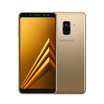 Samsung Galaxy A8 2018 32GB Gold Unlocked - Sim-Free Mobile Phone