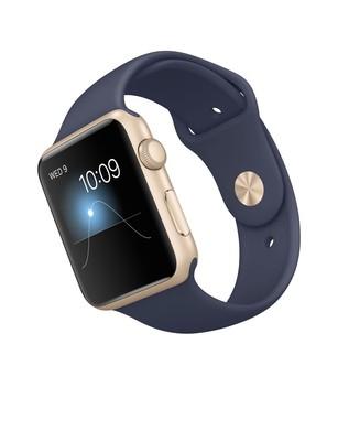 Apple Watch Series 3 GPS Gold Aluminium 42MM Midnight Blue
