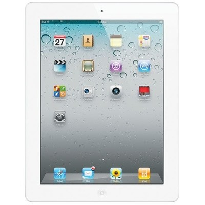 Apple iPad 2 Wi-Fi + 3G 16GB White Unlocked Used/Refurbished cheapest retail price