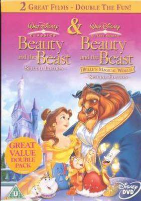 Belle S Magical World Beauty And The B Dvd Musicmagpie Store