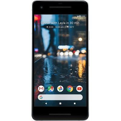 Google Pixel 2 128GB White Unlocked - Sim-Free Mobile Phone