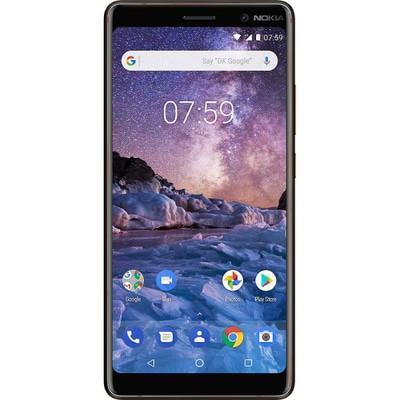 Nokia 7 Plus 64GB Black - Copper Unlocked - Sim-Free Mobile Phone