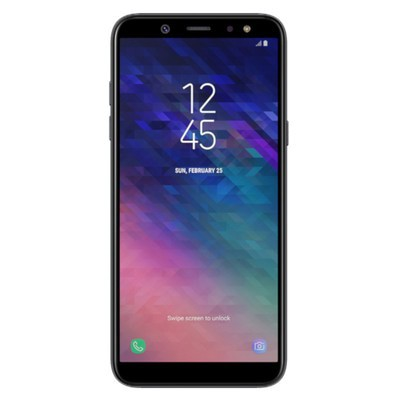 Samsung Galaxy A6 2018 32GB Black Unlocked - Sim-Free Mobile Phone
