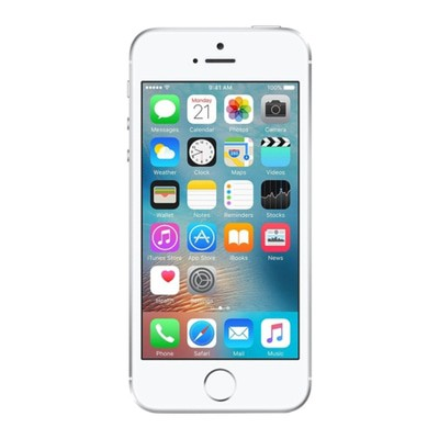 Apple iPhone SE 16GB Silver Unlocked - Sim-Free Mobile Phone