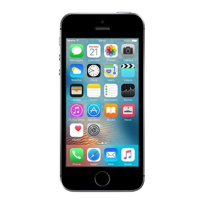 Apple iPhone SE 64GB Space Grey Unlocked - Sim-Free Mobile Phone