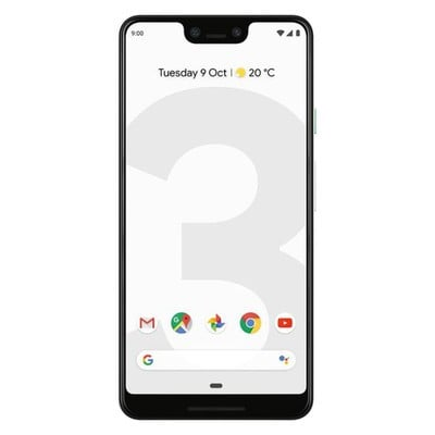 Google Pixel 3 128GB Clearly White Unlocked - Sim-Free Mobile Phone