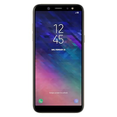 Samsung Galaxy A6 2018 32GB Gold Unlocked - Sim-Free Mobile Phone