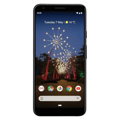 Google Pixel 3a XL 64GB Just Black Unlocked - Sim-Free Mobile Phone