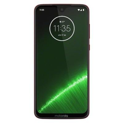 Motorola Moto G7 Plus 64GB Viva Red Unlocked - Sim-Free Mobile Phone