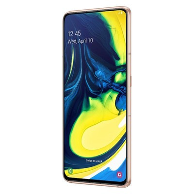 Samsung Galaxy A80 128GB Angel Gold Unlocked - Sim-Free Mobile Phone