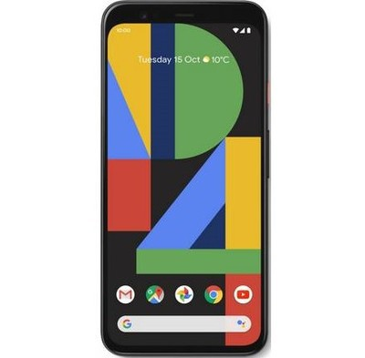 Google Pixel 4 128GB Clearly White Unlocked - Sim-Free Mobile Phone